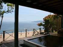 【お一人様から一泊二食付】♪海の見える露天風呂の温泉宿★お食事は和食処です
