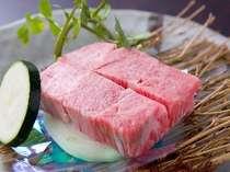 柔らかな飛騨牛のステーキ(一例)