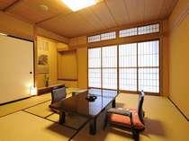 【西の寮】ゆったり落ち着く純和風のお部屋■和室10+3畳一例