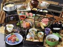 飛騨牛づくし料理 (一例)