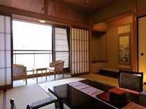 【茶寮庵】■和室 10畳または12.5畳+広縁+テラス付