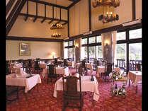 【穂高荘グループ】『山のホテル』フランス料理レストラン『エクレージュ』