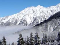 雪の奥飛騨(イメージ)