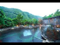 露天風呂「山峡秀綱の湯」(イメージ)