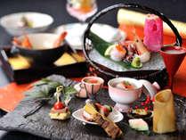 奥飛騨の春の旬を尽くした懐石料理(イメージ)