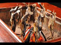 奥飛騨の味覚川魚の塩焼きイメージ