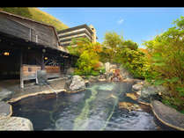露天風呂「山峡秀綱の湯」 秋のイメージ