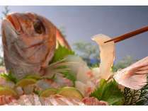 新鮮な鯛をしゃぶしゃぶで!【イメージです】
