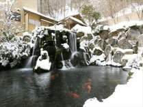 【冬】ロビーからの雪景色