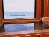 4室限定 海を一望するの展望風呂付客室は温泉と夕陽を客室で楽しめる[石風呂付客室],京都府,夕日ヶ浦温泉 夕日浪漫 一望館