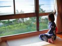 【海側客室】海を眺めゆ~っくりと流れる時を楽しんで,京都府,夕日ヶ浦温泉 夕日浪漫 一望館