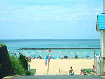 白砂ロングビーチが目の前!海水浴はもちろん、水平線に沈む夕日を眺めながらの散策も気持ちいい,京都府,夕日ヶ浦温泉 夕日浪漫 一望館