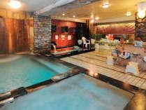 地下930mの泉源からの良質な天然温泉(男性専用)