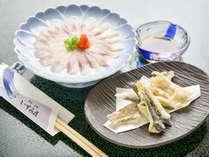 *■鮎料理(一例)■天然の鮎をお造りでご堪能下さい。