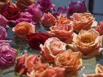 ★美肌プラン★あま~い香りの50輪のバラの露天風呂