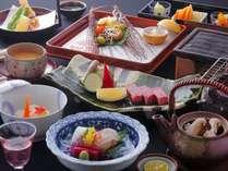 厳選された飛騨牛と京懐石料理(秋のお料理)