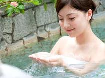 【美人の湯】伊東ホテル聚楽の温泉はph8.34!肌の古い角質を溶かすのでお肌ツルスベに♪