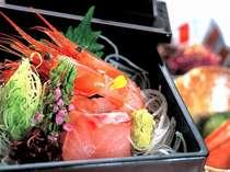 *お刺身(一例)新鮮な日本海の幸をお召し上がりください