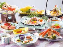 *彩も鮮やかな和洋会席料理に舌鼓♪【瀬波コース一例】