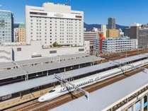 ホテルアソシア静岡 静岡駅北口より徒歩1分 館内にコンビニ レンタカーあり