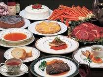 オーナーシェフによる欧風コース料理。選べる食べ放題も好評♪
