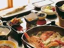 大人気の漁師鍋、朝食2名分