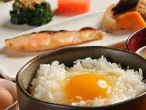産みたて卵と釜で炊いたホカホカご飯の卵かけご飯はやっぱり最高!