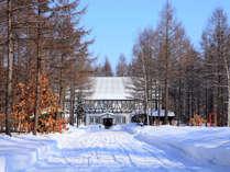 冬の市庁舎
