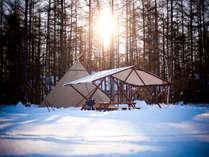 【グランピングテント】体感!真冬のグランピングテントで極寒ステイ♪