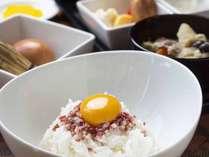 *【朝食】採れたて卵の卵かけご飯セット