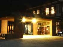 【ホテル外観】夜の外観