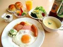 今治産の食材を使用した安心・安全な朝食をご用意しております