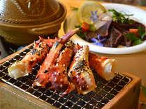【焼きタラバと牛たたきとモヨロ鍋】北海道の海の幸をご堪能ください!