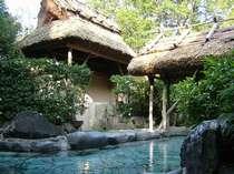 初夏の露天風呂での~んびり 地熱サウナも有り