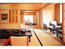 貴賓室「紺瑠璃」和室