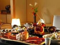 お部屋食又は個室食事処をご準備致します。
