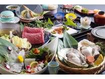 五年岩牡蠣付き夏の特選会席