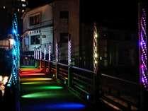 光のファンタジー!湯村温泉 夢ナリエ