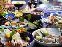 夏の特選和風会席料理例