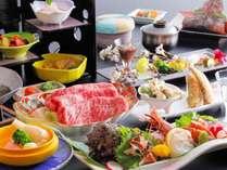 調理長が地元の食材を使って創る、春限定の和風会席料理(朝野家基本コース)をお楽しみください。