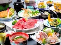 朝野家和風会席料理(お手軽コース)例