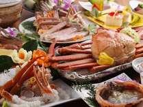 【幻の黄金蟹フルコース】サザエのつぼ焼き付き