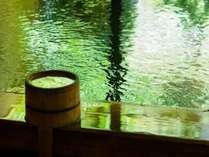 丹後では珍しい源泉かけ流しにごり湯