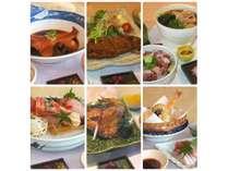夕食が6種の御膳から選べる! 1泊2食付きプラン