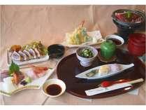 春のお料理アップグレードプラン 【初鰹のステーキ付き特別料理】 平日5組様限定