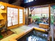 ガーデン風呂&露天風呂