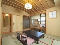 [悠々・遥々の階]純和室(露天風呂付)イメージ 純和風の安らぎに満ちた空間。