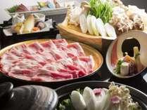 【選べる鍋会席】★期間限定★海鮮たっぷり鍋 or ブランド肉ふくいポーク~湯っくり温まろう~