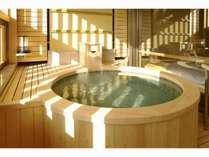 露天風呂付き客室 檜