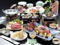 「くろしお会席」伊勢海老・熊野牛・鮑など豪華な食材を使った大人気のお料理(お造りは2人前)